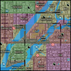 GTA 1 Mappa Liberty City quartieri