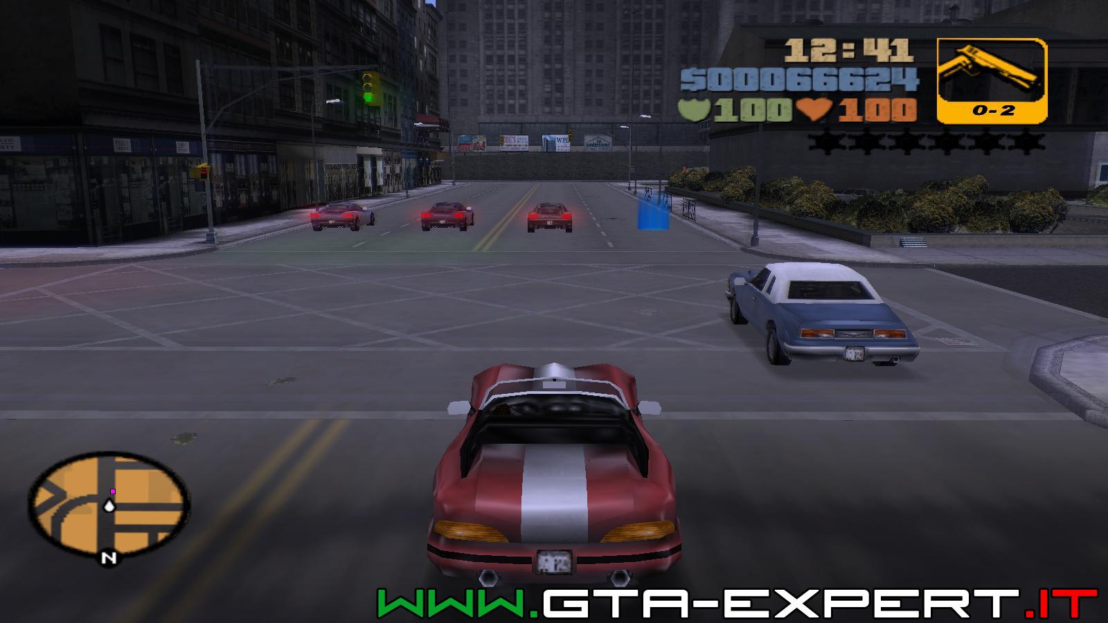 Missione extra 05 - Turismo - GTA III - GTA-Expert