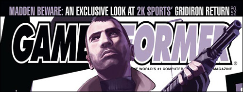 Cover GameInformer GTA 4 Preview
