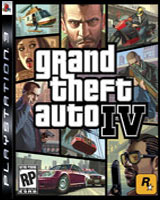 Cover GTA 4 PS3