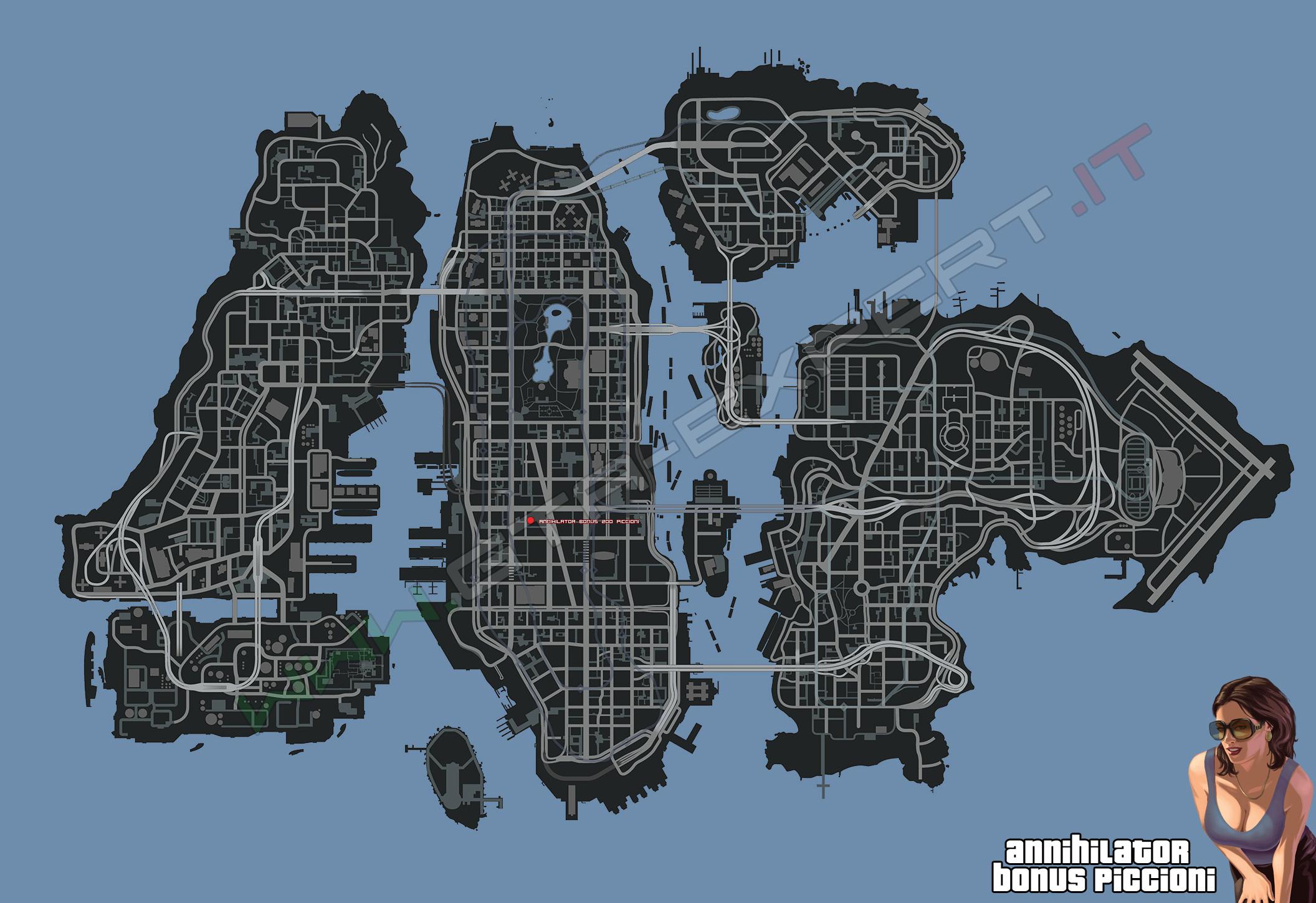 Gta V Elicottero Mappa : Mappe gta iv expert