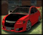 GTA 4 Lancer Evolution VIII Tuning