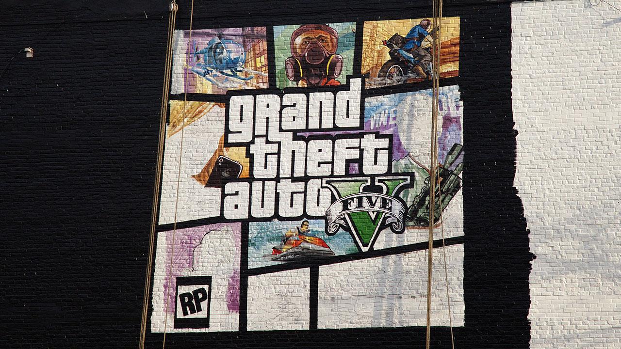 Gta 6 Cover: Murale A New York Con La Cover Di GTA V Terminato