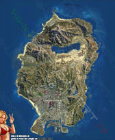 Mappa satellitare voli a coltello GTA 5