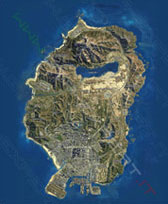 Mappa satellitare GTA 5