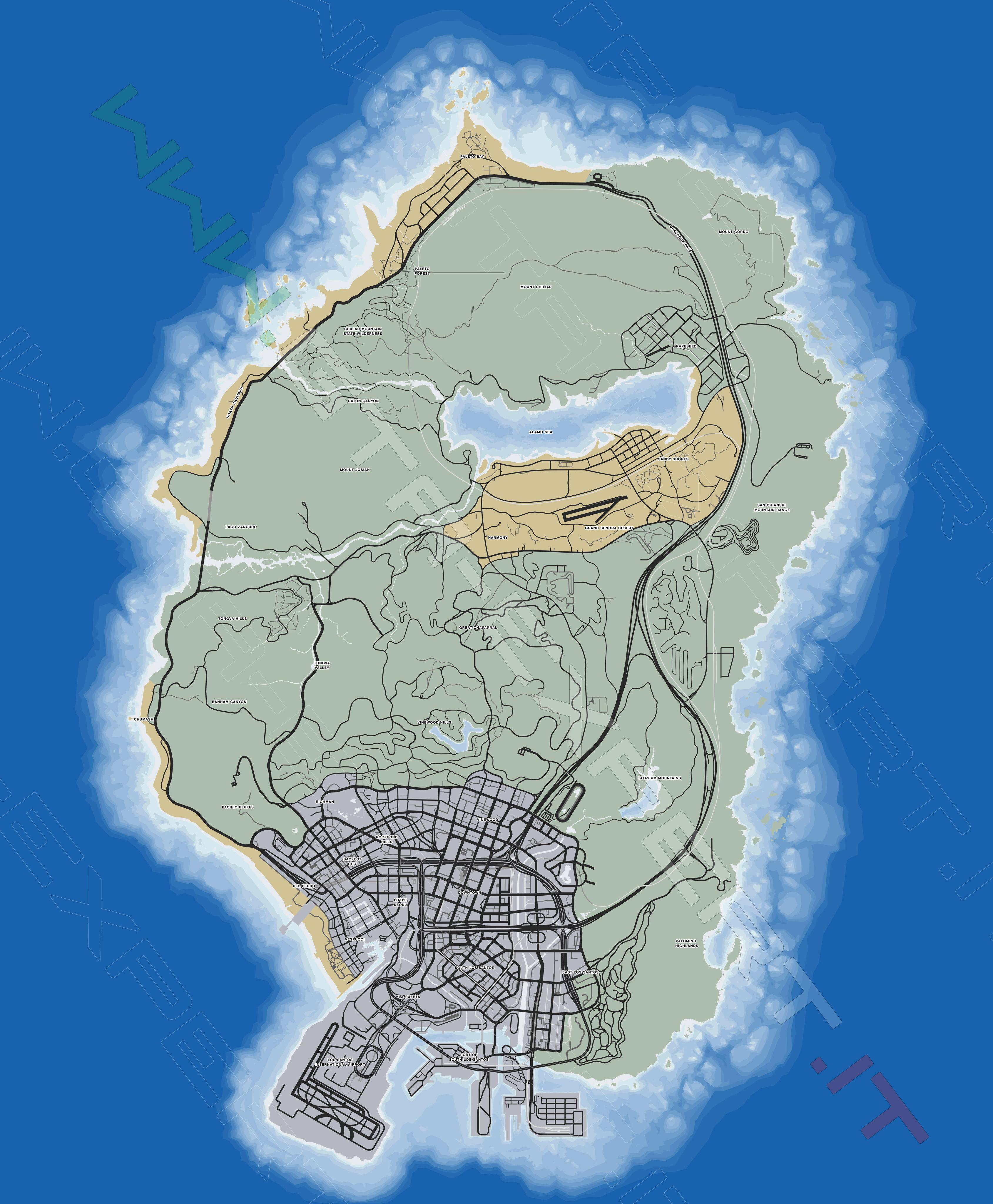Gta V Elicottero Mappa : Mappe gta v expert