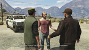 GTA 5 Guardia civile di confine
