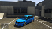 GTA 5 Vapid Minivan Custom