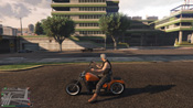 GTA 5 Western Zombie Chopper