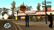 Entrata del Burger Shot in GTA: San Andreas