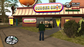 Esterno del Burger Shot in GTA: San Andreas