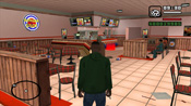Interni del Burger Shot in GTA: San Andreas