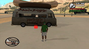 Un venditore di hot dog a San Andreas