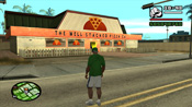 Entrata del The Well Stacked Pizza Co. in GTA: San Andreas