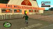 Esterno del The Well Stacked Pizza Co. in GTA: San Andreas