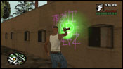 San Andreas Tagging Up Turf