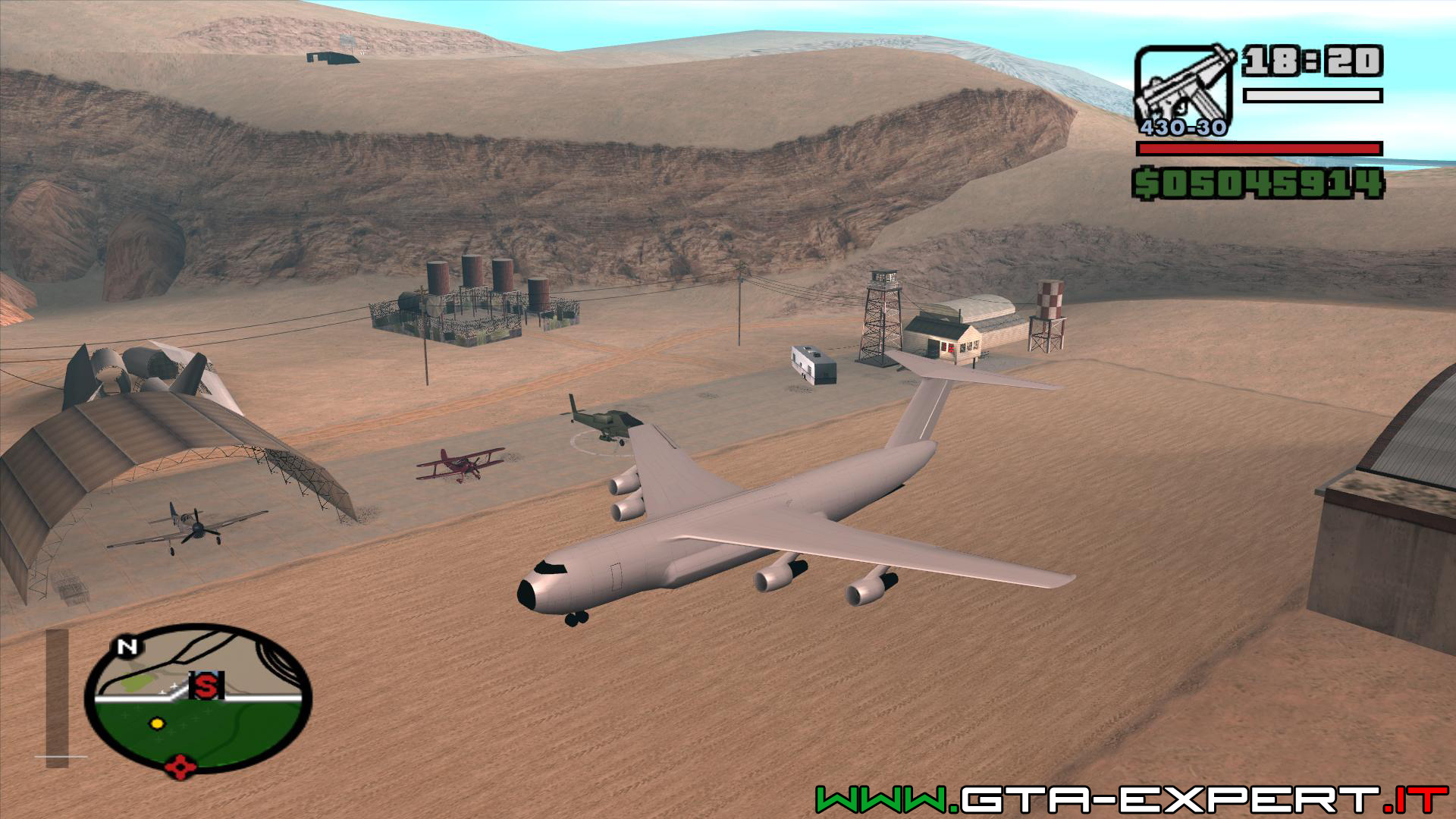 Aereo Da Caccia Gta 5 : Elicotteri e aerei gta san andreas expert