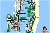 Mappa secondarie Vice City