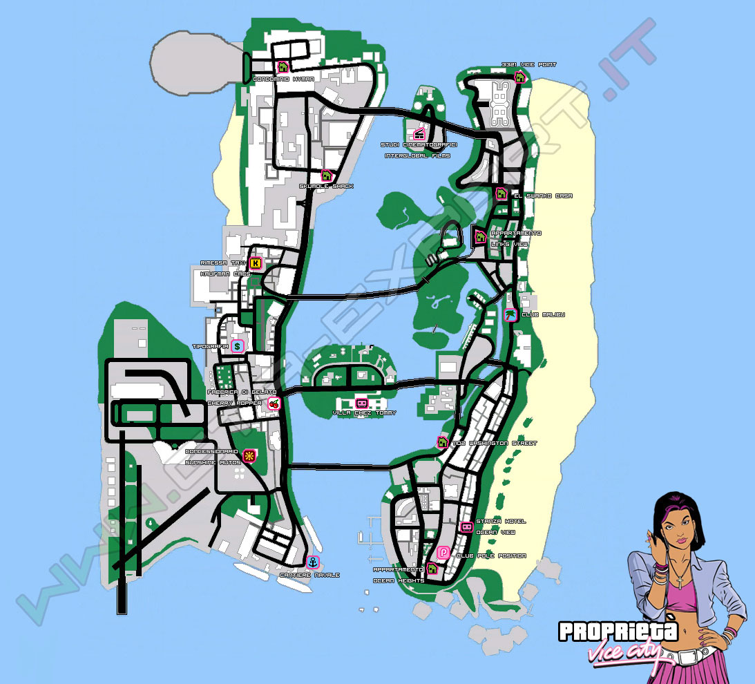 Proprietà - GTA Vice City - GTA-Expert