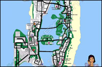 Mappa case Vice City