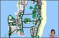 Mappa rapine Vice City