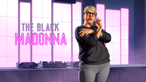 Artwork di The Black Madonna su GTA Online