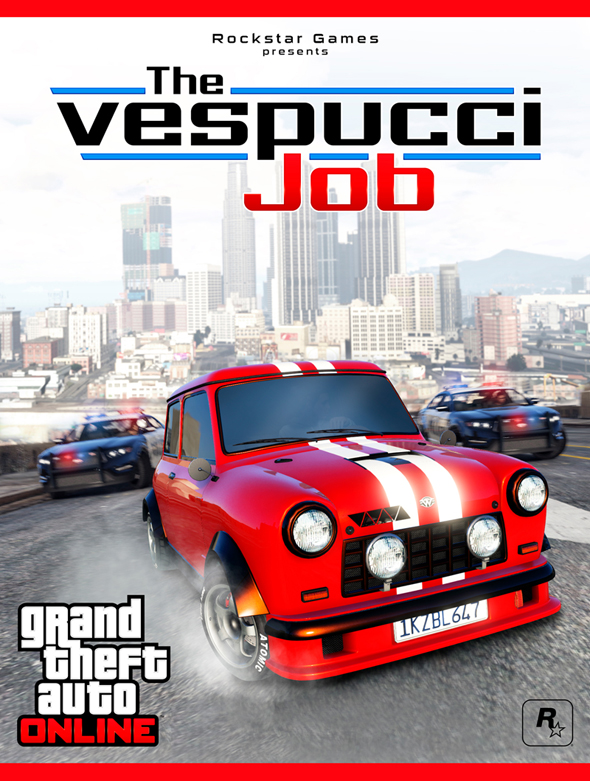 The Vespucci Job su GTA Online