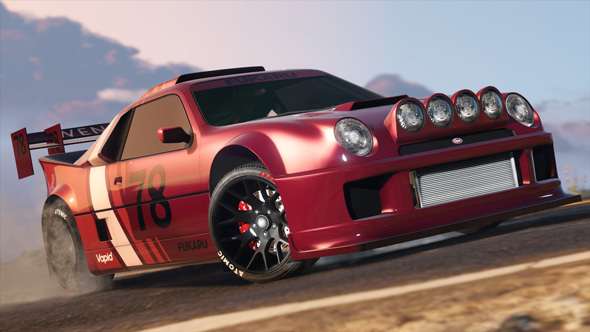 La Vapid GB200 su GTA Online