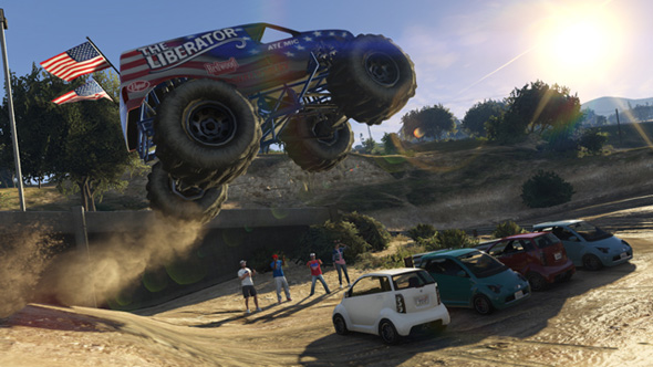 Monster Truck del DLC Independence Day