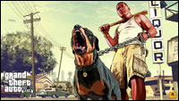 GTA 5 Artwork Franklin & Chop