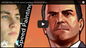 GTA 5 Speed Drawing 1