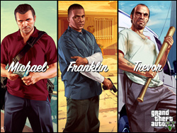GTA 5 Michael Franklin Trevor