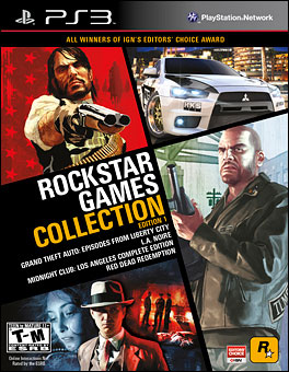 Rockstar Games Collection Edition 1 Cover